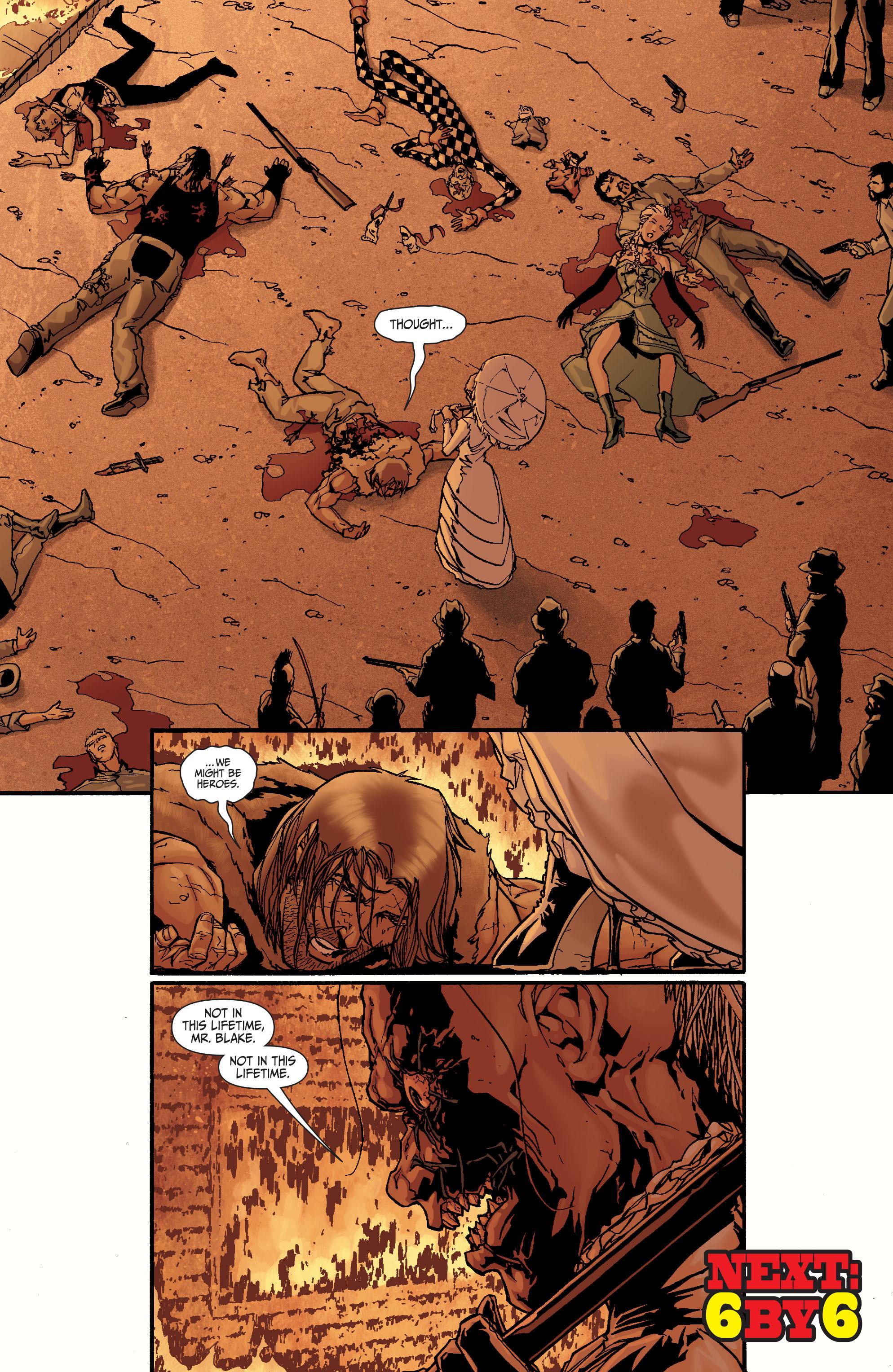 Read online Secret Six (2008) comic -  Issue #24 - 21
