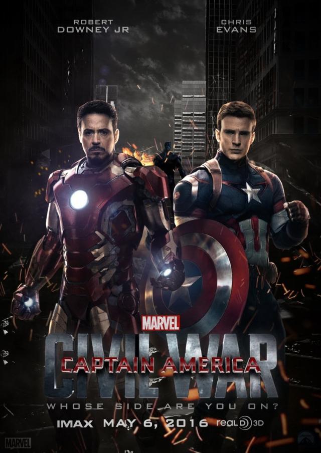 Captain America 3: Nội chiến Siêu Anh Hùng - Captain America 3: Civil War (2016)