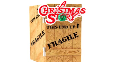 A Christmas Story Ornaments Editing Luke