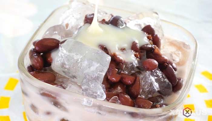 Resep cara membuat kolak kacang merah