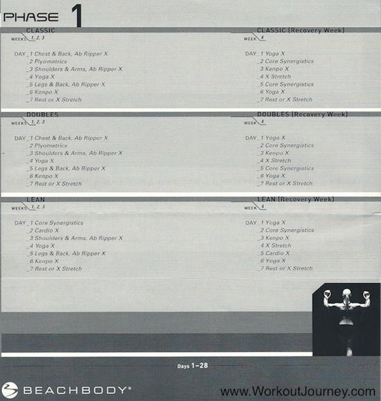 P90X DVD Lean Workout: 2011