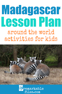Building the perfect Madagascar lesson plan for your students? Are you doing an around-the-world unit in your K-12 social studies classroom? Try these free and fun Madagascar activities, crafts, books, and free printables for teachers and educators! #madagascar #lessonplan #socialstudies #geography