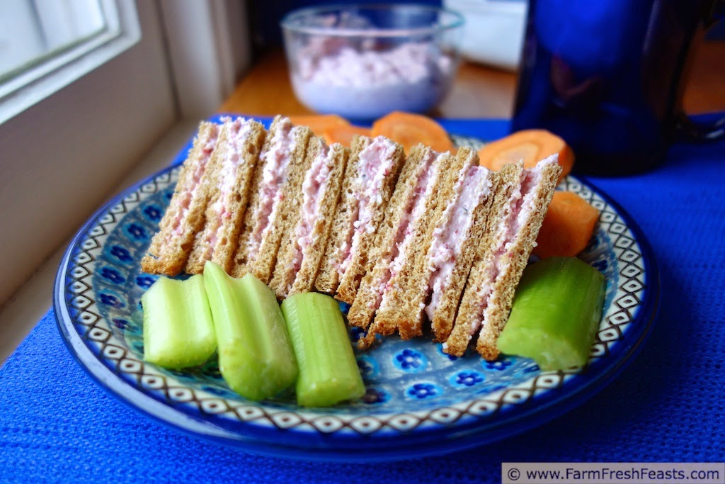 Radish Sandwich Spread | Farm Fresh Feasts