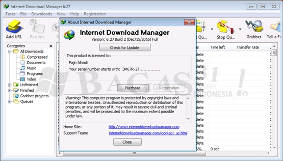 Internet Download Manager 6.27 Build 2 Full Version 1