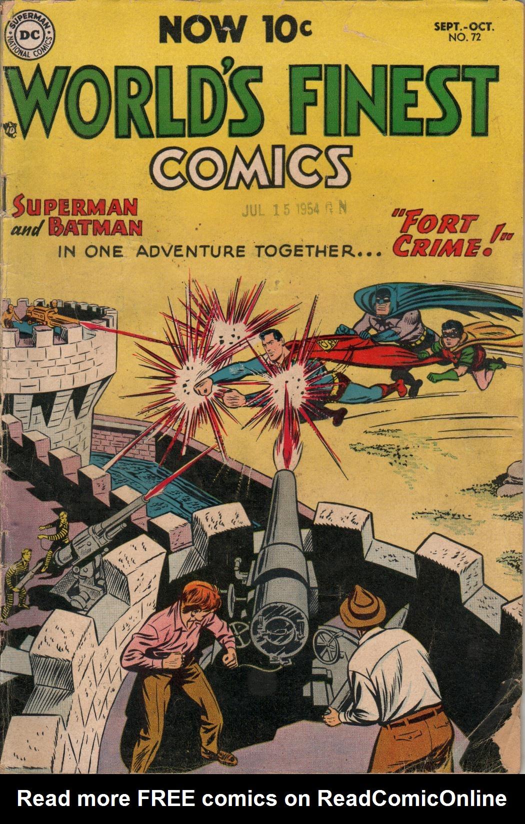 Read online World's Finest Comics comic -  Issue #72 - 1