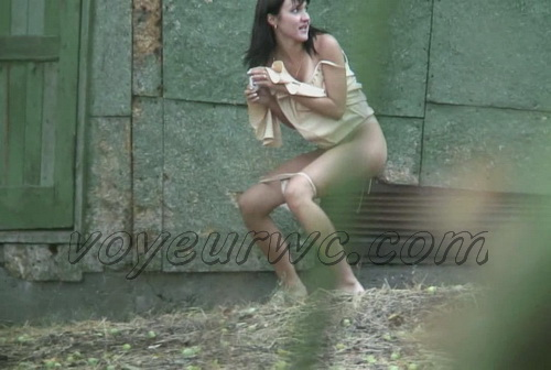 PissHunters 9684-9699 (Girls at the outdoor peeing on hidden cam)