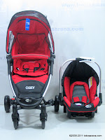 BABYELLE S602 COZY Travel System  Baby Strolller and Baby Carrier/Car Seat