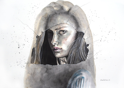 04-Through-the-Glass-Erica-Dal-Maso-Expressing-Emotions-Through-Watercolor-Paintings-www-designstack-co