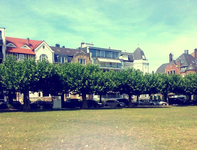 Dusseldorf in the sun