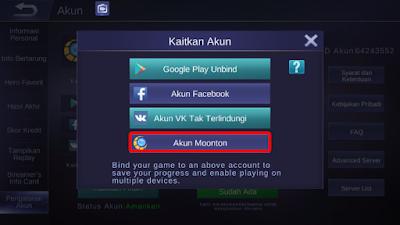 Cara Daftar Akun Moontoon