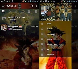 BBM Mod Clone DragonBall Z v3.2.5.12 Apk Gratis