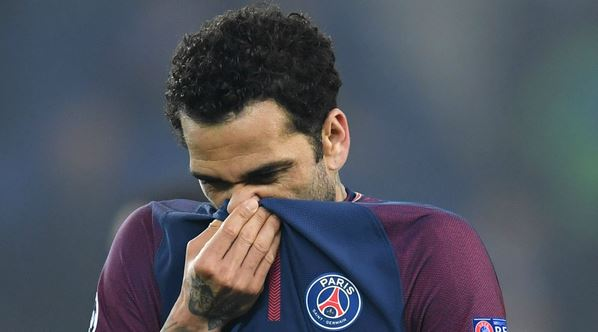 Dani Alves Faces Fire For Wiping His Nose On Ronaldo