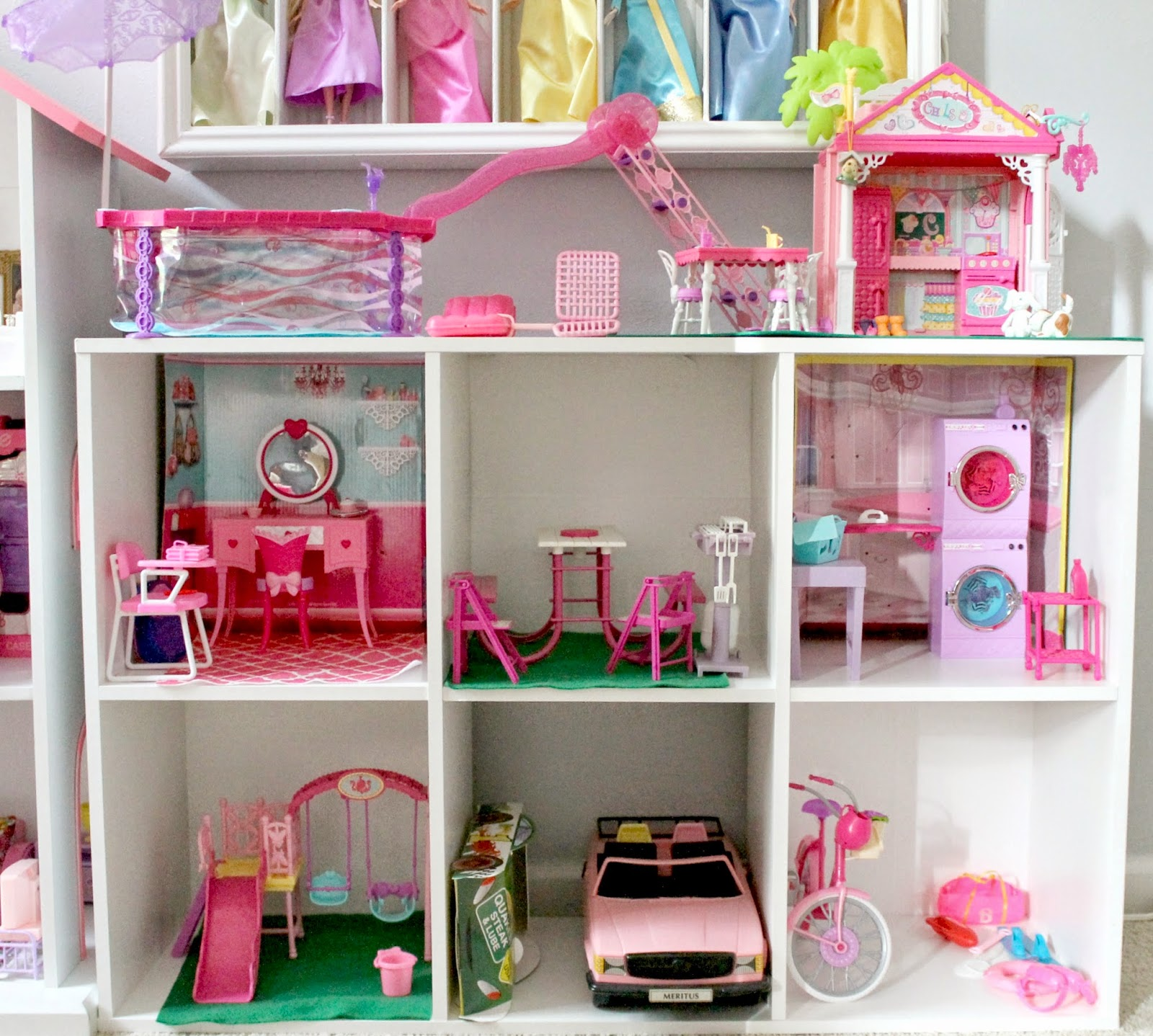 Barbie Furniture Diy: DIY Barbie House Update