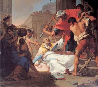The Martyrdom of St Eusebius