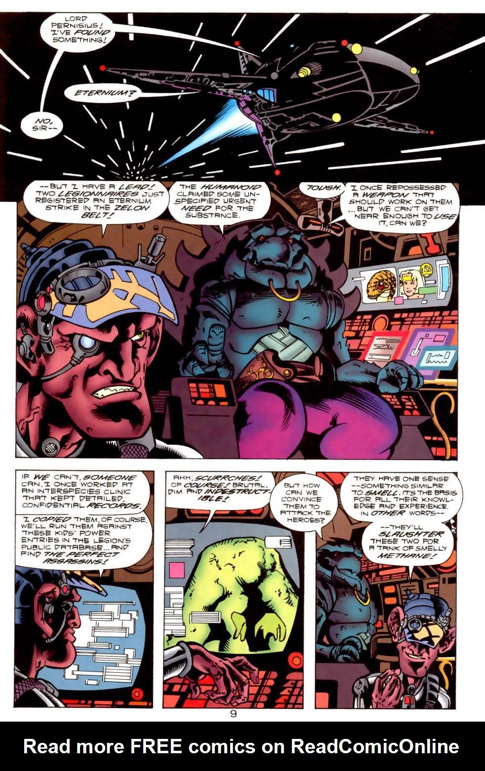 Legion of Super-Heroes (1989) 115 Page 9