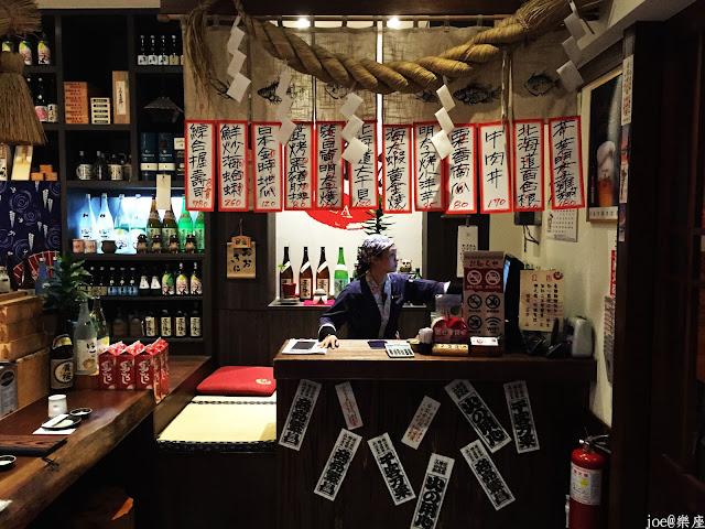 IMG 9614 - 【台中美食】來自日本傳統好滋味的 樂座端爐燒 @日本古早味@新鮮海鮮@新鮮蔬果~