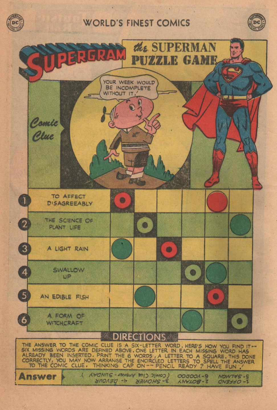 Read online World's Finest Comics comic -  Issue #72 - 16