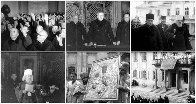 Cenas do execrado Sínodo de 1946.