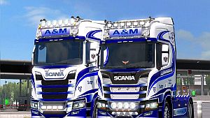 "Scania S & R ""New Generation"" A&M Commercials"