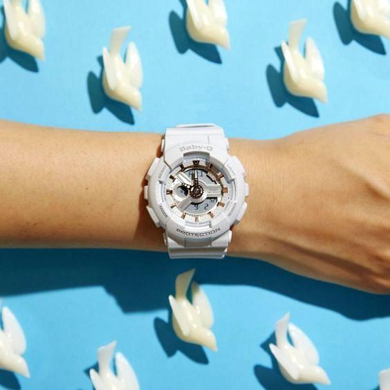 Jam tangan digital BABY-G BA110GA-7A1 yang trendi dan bagus