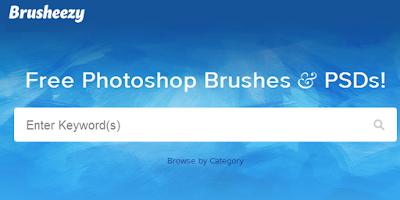 Daftar Website Penyedia Brush untuk Photoshop GRATIS