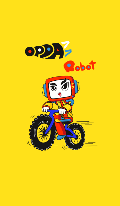 Oppa77 Robot Bicycle
