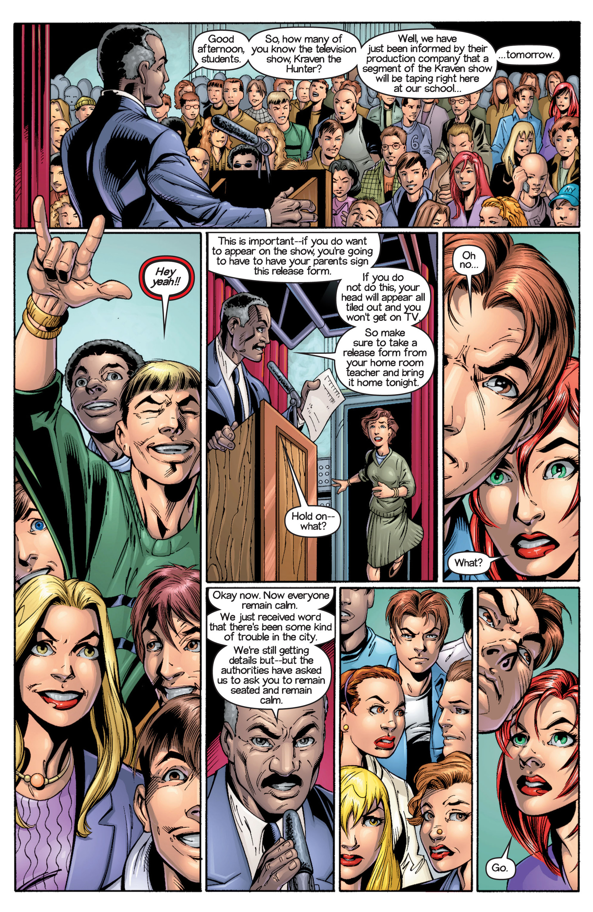 Read online Ultimate Spider-Man (2000) comic -  Issue #17 - 18