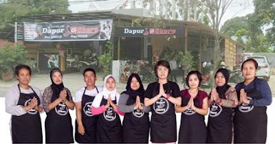Dapur Ghery, Jl. Awang Long 22 Bontang  : Rumah Makan Rica-Rica Hanya Untuk Mereka Yang Beryali