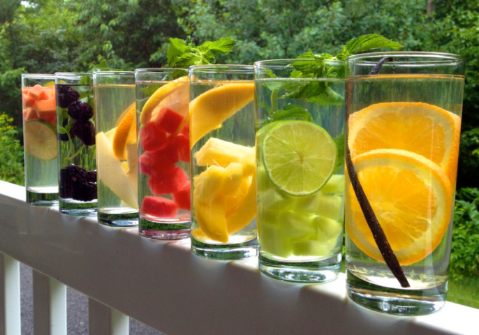 Healthy Flavored Water Recipes