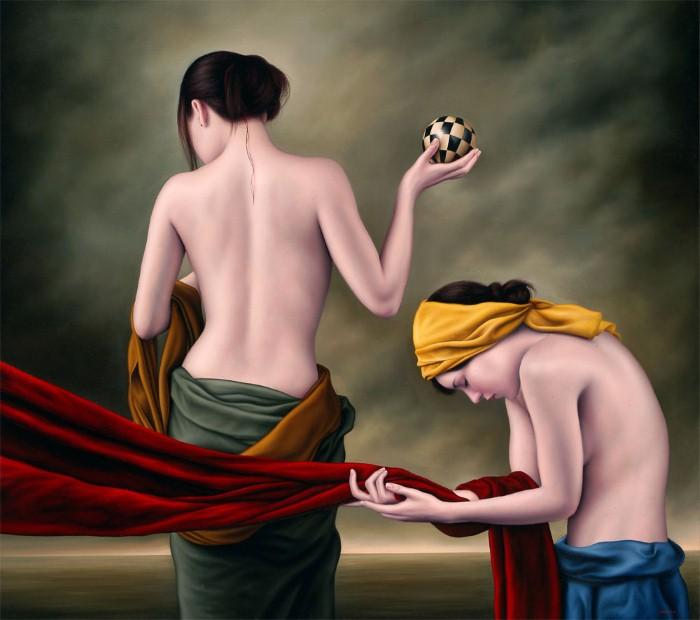 Современный художник-реалист
