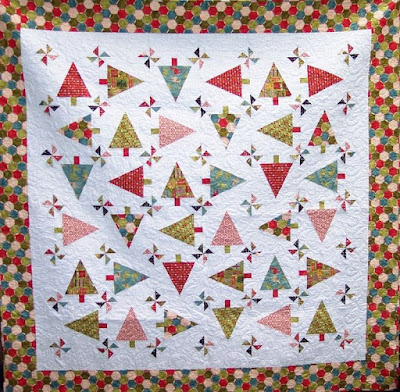 Christmas Quilt Patterns.Quilt Inspiration Free Pattern Day Christmas Quilts Part