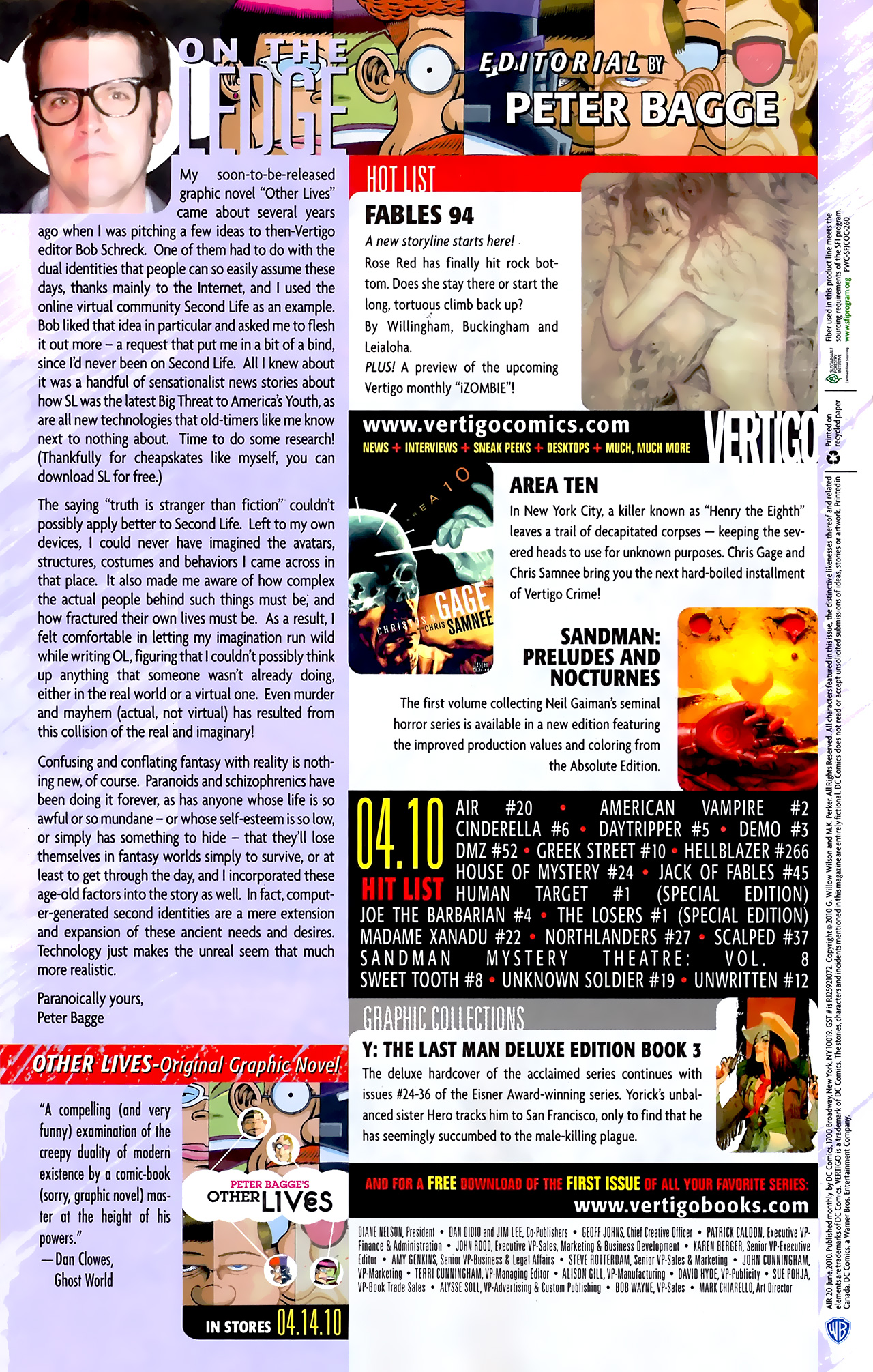 Read online Air comic -  Issue #20 - 22