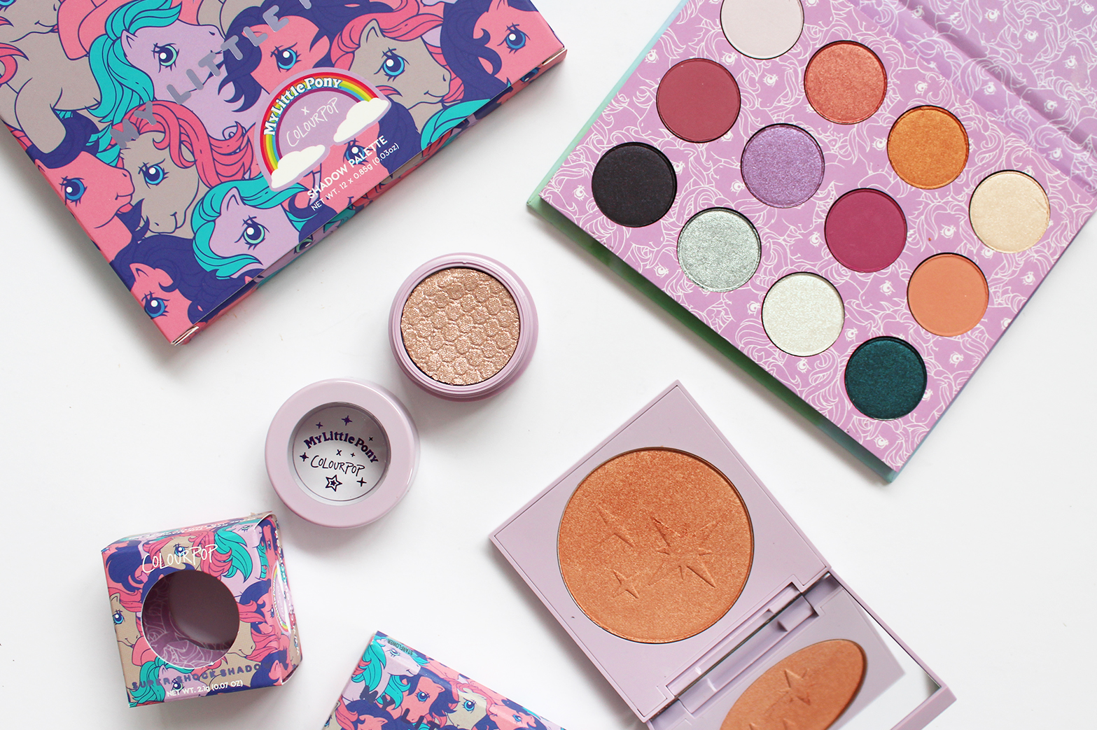 COLOURPOP | Haul - New Fall Eyeshadows, Palettes + My Little Pony Collection - CassandraMyee