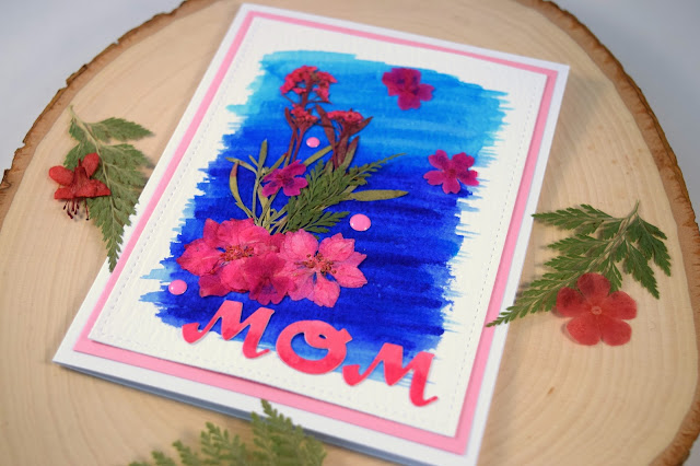 Floral Mother's Day Card by Jess Crafts with flowers from Greetings of Grace