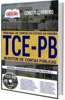 Apostila ConcursoTCE-PB 2018 Auditor de Contas Públicas
