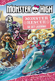 Monster High Monster Rescue: Go Get Lagoona! Book Item