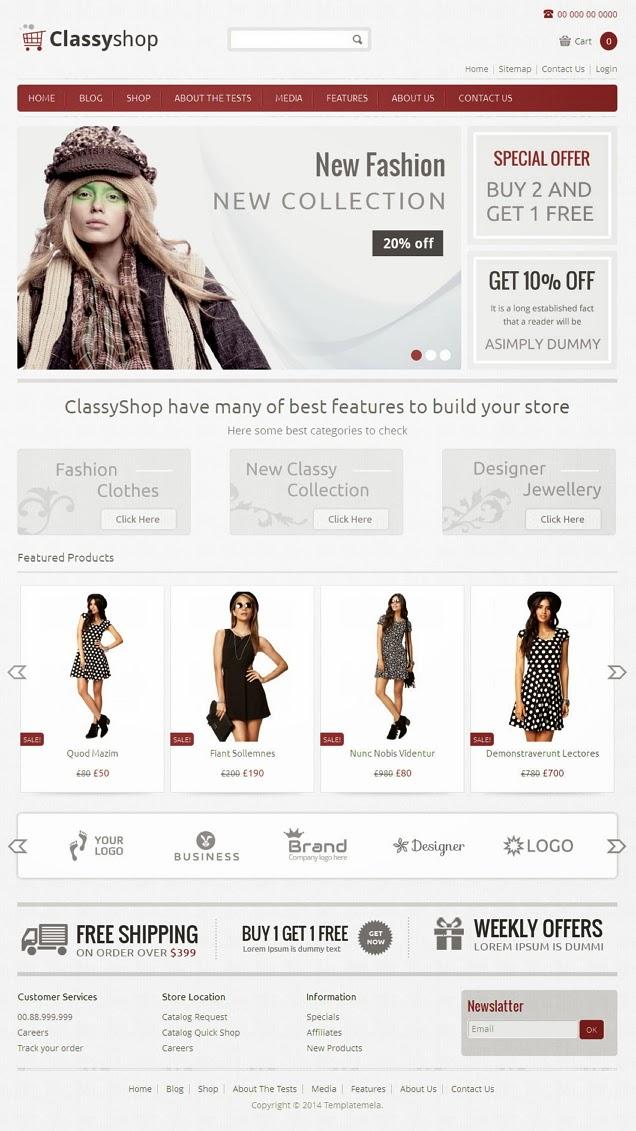 WooCommerce Responsive Theme 2014