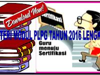 Download Modul Materi PLPG Tahun 2016 Lengkap SD,SMP dan SMA/SMK