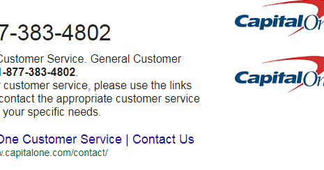 Capital One Phone Number Login My Page