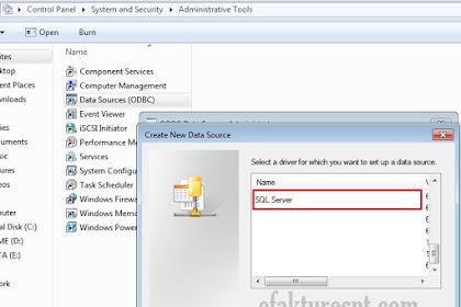 ODBC Access Driver Tidak Ada MDB dan ACCDB Saat Menambah Database eSPT
