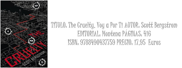 Reseña: The Cruelty, Voy a por ti