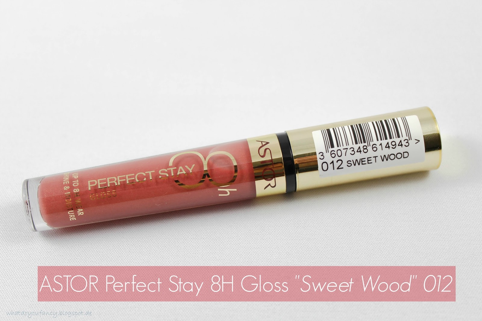 "ASTOR Perfect Stay 8H Gloss in der Nuance 012 ""Sweet Wood"""