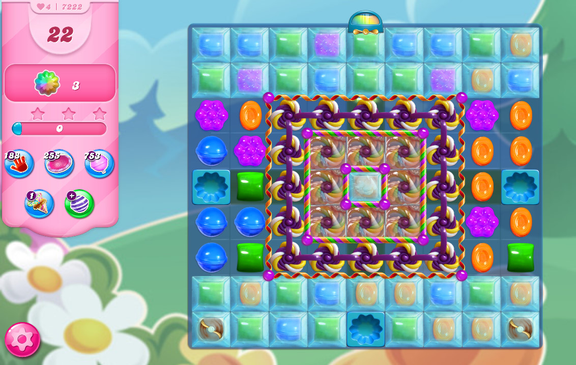 Candy Crush Saga level 7222