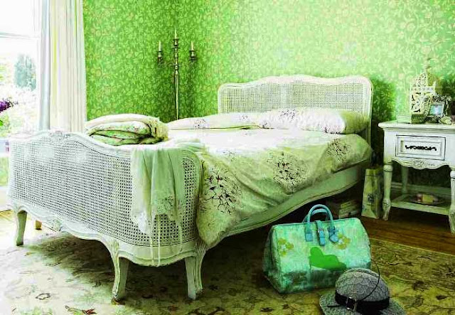 soothing green paint colors for bedroom