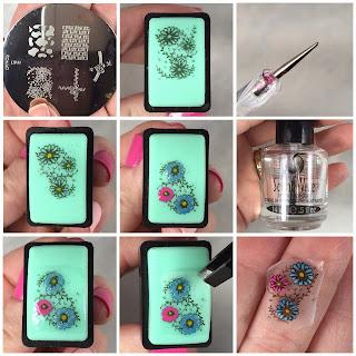 Resultado de imagen de reverse stamping nails