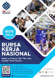 Bursa Kerja Nasional Akhir Maret 2019