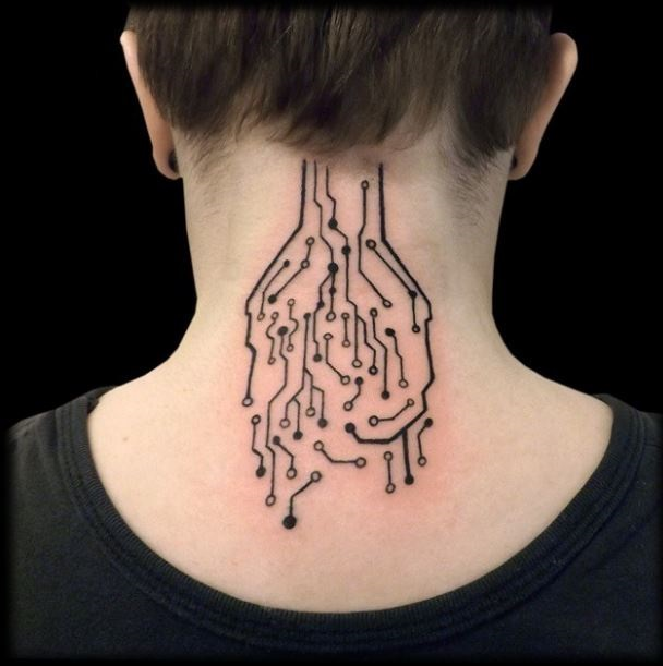Most Beautiful Neck Tattoos: 80+ Cute Neck Tattoos For Girls (2019)