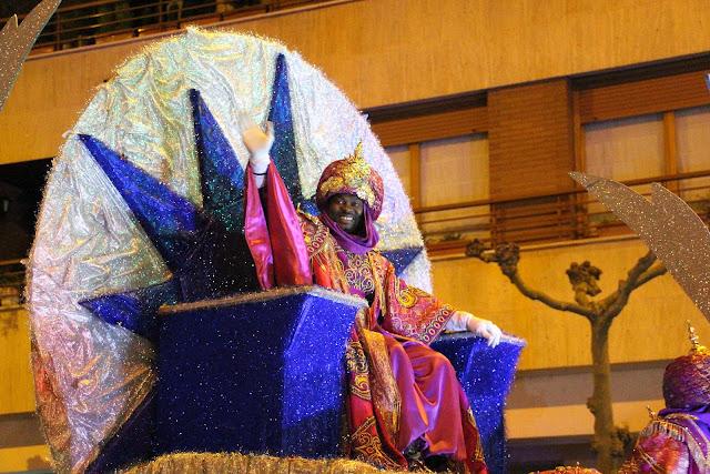 cabalgata de Reyes en Barakaldo