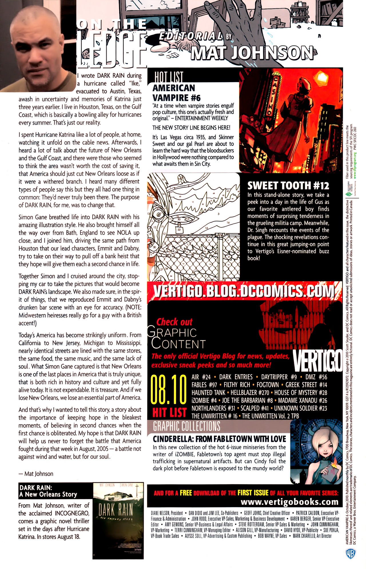 Read online American Vampire comic -  Issue #6 - 25