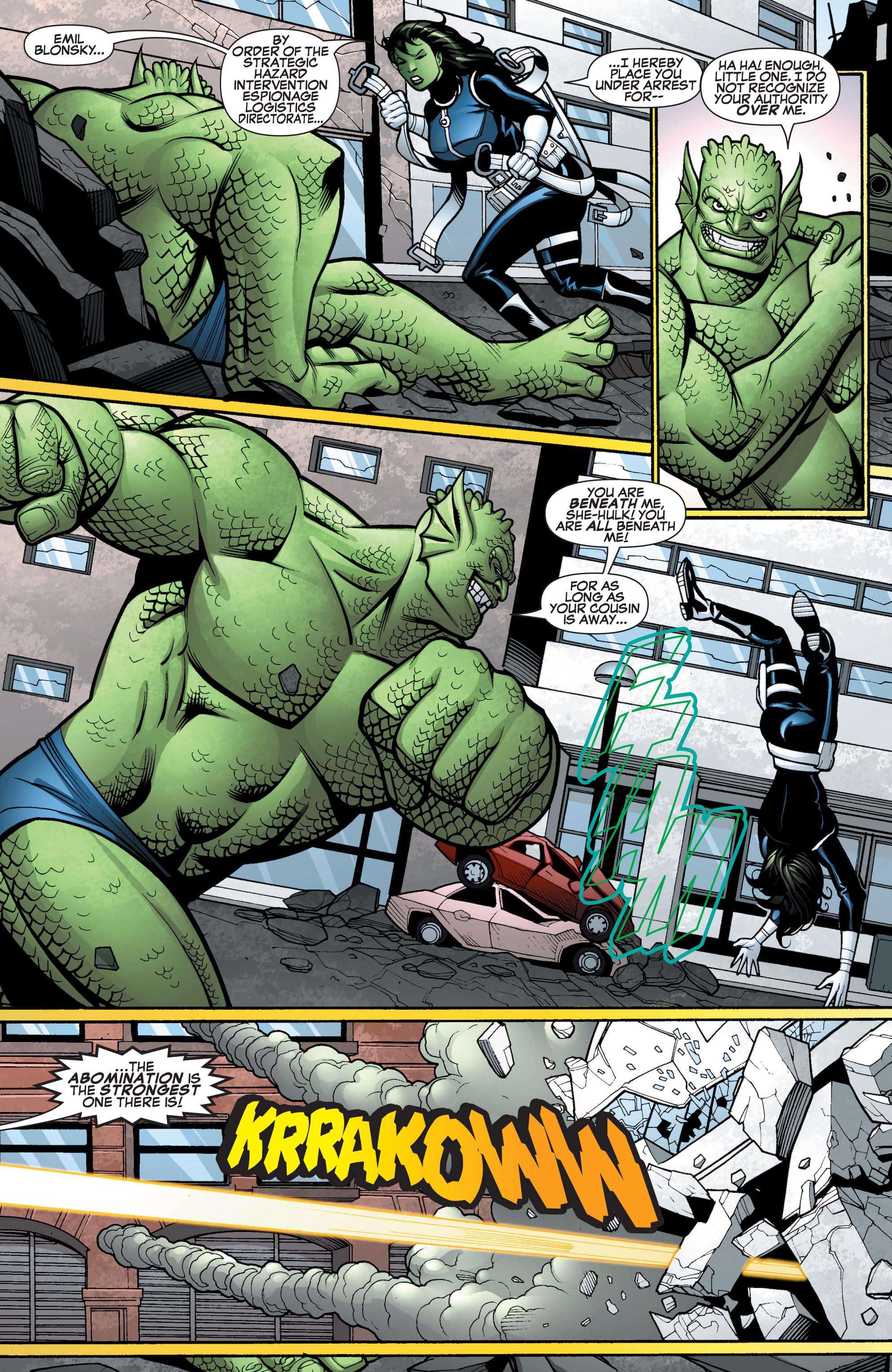 Read online She-Hulk (2005) comic -  Issue #15 - 11